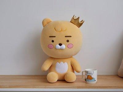 全新 韓國直購 KAKAO FRIENDS 王冠 Little Ryan 44CM 公仔 正品 預購(可旺角門市交收)預購貨品請先入數