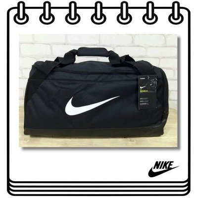 【Drawer】Nike Brasilia 6 Medium 行李袋 運動包 健身袋 黑色 美國代購