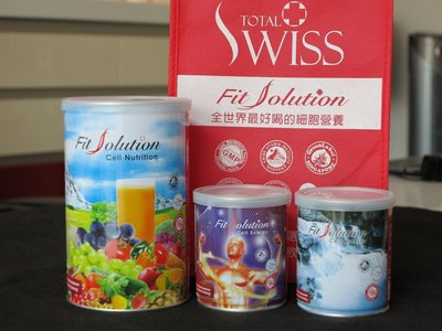 現貨供應Total Swiss龍騰瑞仕 Fit Solution 德國研發瑞士製造細胞營養套組*4套