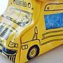 《瘋日雜》349 日本雜誌附錄SNOOPY 史努比 史奴比 巴士造型 校車 收納袋 小物包化妝包 收納包