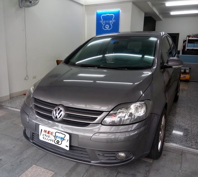 Volkswagen Golf Plus-A柱+B柱+C柱+尾門上方+尾門左右側+後擋雨切 套裝組【靜化論】