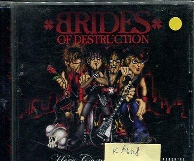*真音樂* BRIDES OF DESTRUCTION / HERE COME THE BRIDES 二手 K26608