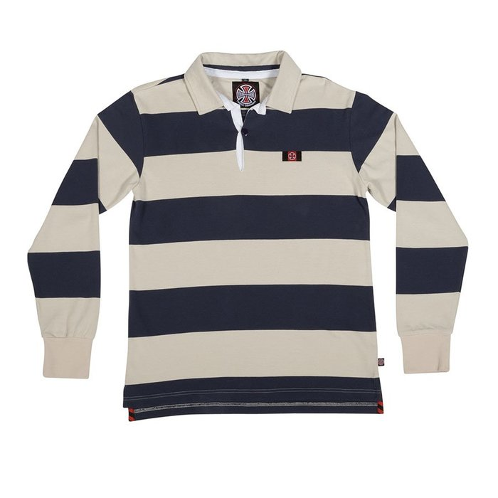 《 Nightmare 》Independent Scrum L/S Rugby Polo Shirt