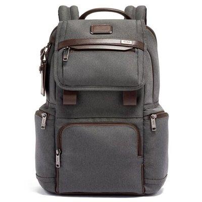 皮藏客 TUMI/途米 JK453 男女款 休閒商務電腦後背包  時尚雙肩背包 健身運動旅行背包 彈導尼龍配真皮