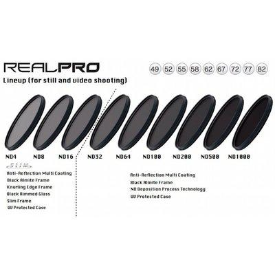 ~相機 ~ Kenko RealPRO ND8 49mm 薄框防水抗油汙多層膜減光鏡 減3格 正成 貨