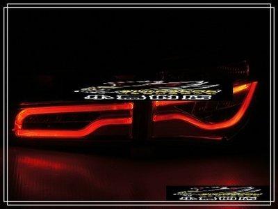(小鳥的店)豐田 ALTIS 11/11.5代 14-18 仿BMW LED 紅白 跑馬 流水 尾燈 toyota