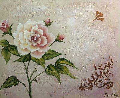 【松風閣畫廊】花卉圖  60 x 49cm / fl18096c