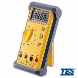 【電子超商】 含稅有發票 泰仕 TES-2700 三用電錶 自動換檔 交直流電壓電流
