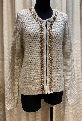 Relish義大利駝色微金蔥毛衣外套~1800出清下標區