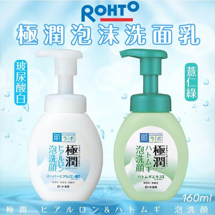日本【ROHTO】極潤泡沫洗面乳 160ml