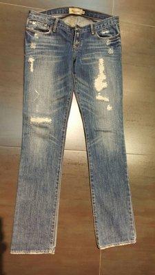 A&F 牛仔褲 size16