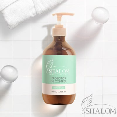 Shalom 希樂~益生菌控油淨化洗髮精500ml【天使愛美麗】健康毛囊 控油淨化 深層潔淨 低敏親膚