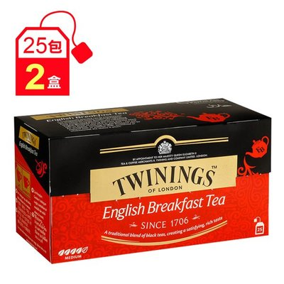 【亮亮生活】ღ 唐寧 英倫早餐茶 2盒組 ღ 口感較為紮實飽滿,味道稍強勁