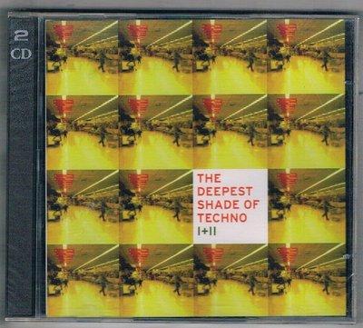[鑫隆音樂]西洋CD-THE DEEPEST SHADE OF TECHON I+II-2CD/SSR174全新/免競標