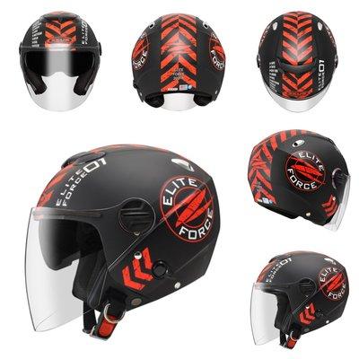 瑞獅 202FB(消光黑紅)ZEUS T63 半罩式 彩繪 輕量 內建墨鏡 可拆洗 加大安全帽 雙鏡片 安全帽 新北市