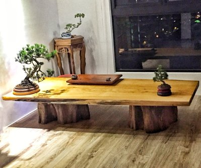 【原味手工家具】台灣黃檜桌板-台南 原木 家具