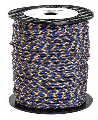法國 cousin CORDS 6mm 普魯士繩 120米 寶藍橘 每米