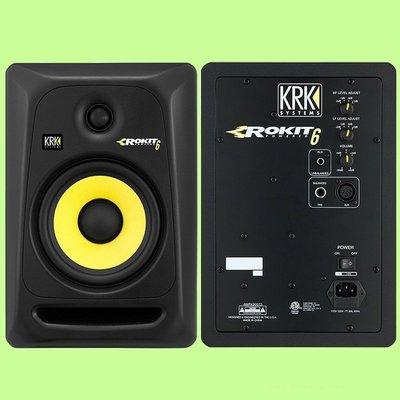 5Cgo【權宇】PROFOUND KRK RP6 G3 RP Rokit 1吋+6吋 監聽音箱 錄音室音響 含稅