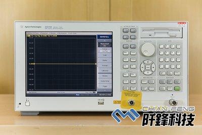 【阡鋒科技 專業二手儀器】安捷倫 Agilent E5070B 300kHz-3GHz 2ch. 網路分析儀
