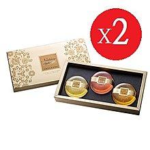 台鹽生技~黃金皂禮盒-3入/盒(玫瑰+茉莉+檀香)*2盒