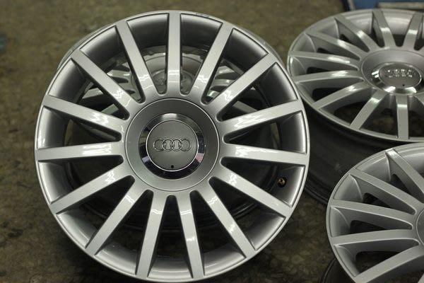 極新 拆車圈 波蘭製 AUDI A4 16吋 原廠圈 57.1  ET42 7J 5X112 AUDI VW A3 A4 A5 A6 可刷卡