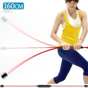 160CM高效率彈力棒有氧健身棒振動杆振顫棒扭力棒臂力棒甩甩棒練力棒晃晃棒彈性平衡彈力器C109-5158【推薦+】