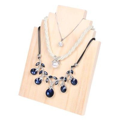 hello小店-木質首飾展示架創意項鏈掛架飾品吊墜收納擺件珠寶道具展示板#飾品架#展示道具#