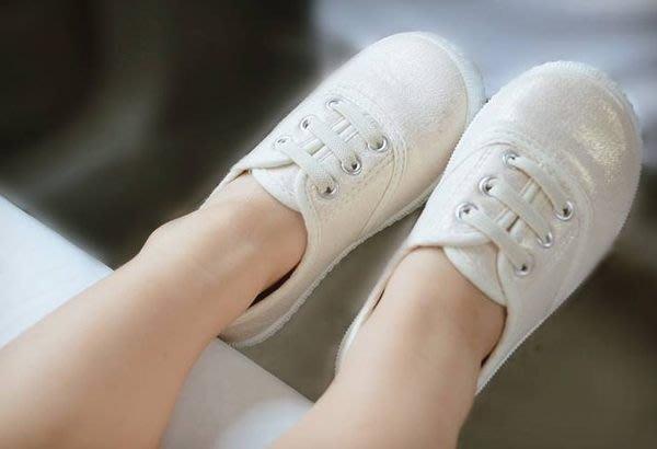 『※妳好,可愛※』外貿優質鞋款-- 男.女寶寶可愛休閒鞋 童鞋 平底鞋 帆布(淺白金專區)