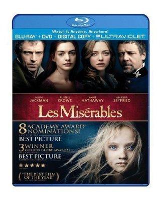 BD 全新美版【悲慘世界】【Les Miserables】Blu-ray 藍光