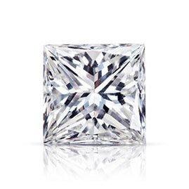 GIA 0.41克拉 D VVS2  Princess Cut Diamond (40分公主方切刻鑽石價格)