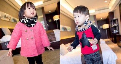 ♥ 【BF0001】SW-1401 韓版男童女童圍巾 (現貨) ♥