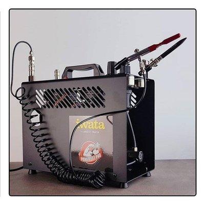 【可開發票】日本巖田iwata模型噴漆噴筆氣泵IS-975SH825850 MaxxJet IS1000[五金]