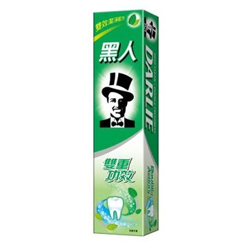 黑人牙膏雙重功效(175g)〔生活百坊〕