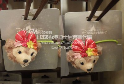 莎卡娜代購【香港迪士尼正品】雪莉梅 花...