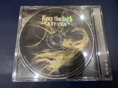 *還有唱片行*KAT-TUN / KEEP THE FAITH 二手 Y12921 (49起拍)