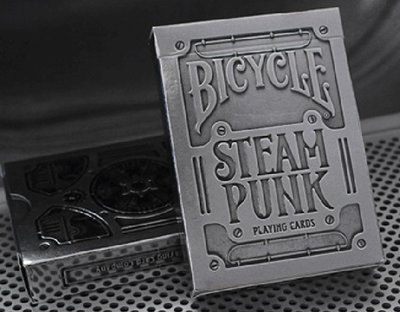 【USPCC撲克】撲克牌 BICYCLE USPCC Steampunk 銀色 外凸字