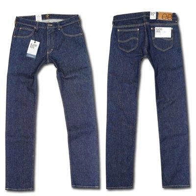[全新]Lee 101 Rider Fading Indigo Jeans原色窄版牛仔褲 沙色布邊赤耳 (LVC可參考)