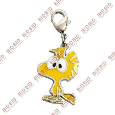 Woodstock 胡士托 公仔扣 拉鏈扣 拉鍊扣 掛飾 吊飾 手袋裝飾 ( 大眼款 ) Snoopy 史努比 史諾比 Peanuts