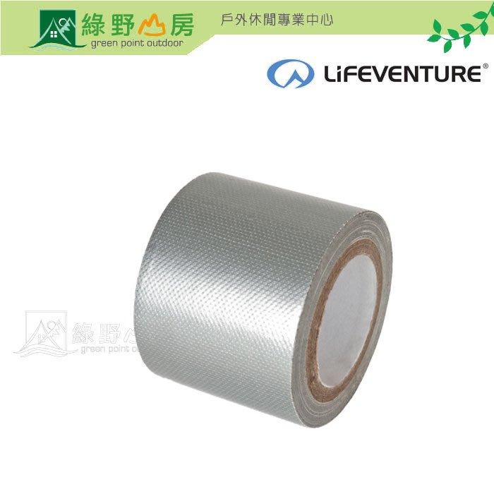 《綠野山房》Lifeventure 英國 DT 超強防水修補膠帶-5M 大力貼 Duct Tape 裝備修補 8235