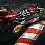 Kimi Raikkonen Lotus Apex Hunter限量油畫...