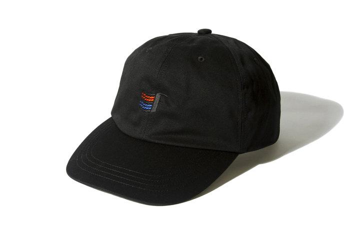 "[ LAB Taipei ] F-LAGSTUF-F "" 93 LOGO CAP ""(Black)"