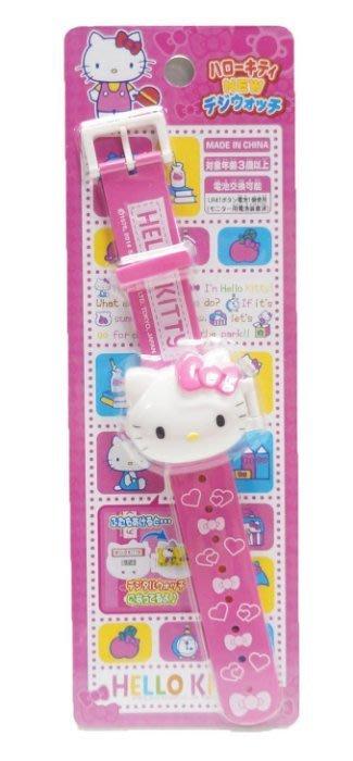 佳佳玩具 ----- HELLO KITTY KT貓 可愛 手錶 手錶玩具 電子錶 三麗鷗授權【05A361】
