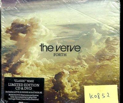 *真音樂* THE VERVE / FORTH CD+DVD 歐版 全新 K0852 (外包破) (209下標賣3)