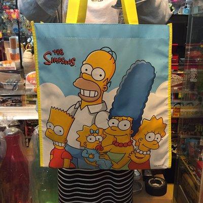 (I LOVE樂多) 日本進口 辛普森家庭 THE SIMPONS 手提袋 購物袋