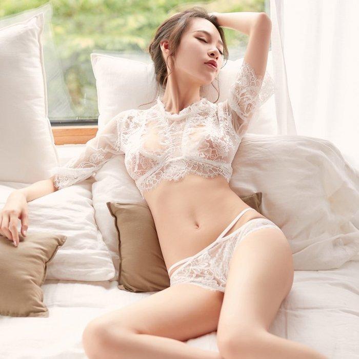 解憂zakka~ 睡衣女夏 性感火辣成人誘惑透明蕾絲薄款騷女士性感 夏季小胸情趣#情趣服裝#角色服
