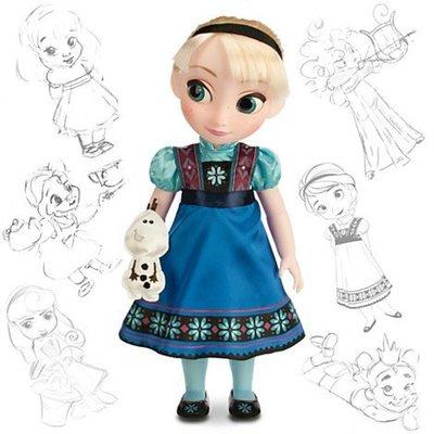 """迪士尼冰雪奇緣Elsa 16""""收藏版娃娃"""
