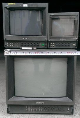 SONY-PVM 5041q .8044q .1354q CATV專業彩色CRT 遊戲玩家最愛 任天堂