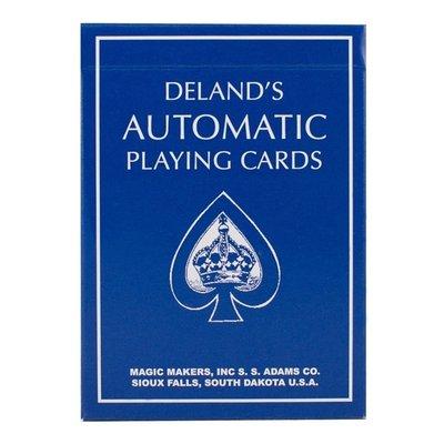 【USPCC 撲克】Delands Automatic DeckBlue 終極記號牌藍