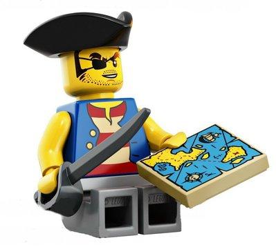全新美國帶回 樂高積木LEGO 21322 人偶 Quartermaster Riggings...如圖