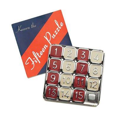 Thinkfun新想法Fifteen15 Puzzle數字華容道金屬拼圖滑動益智玩具@欣悅小佳 新款